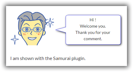 SAMURAI Plugin HTML Sample